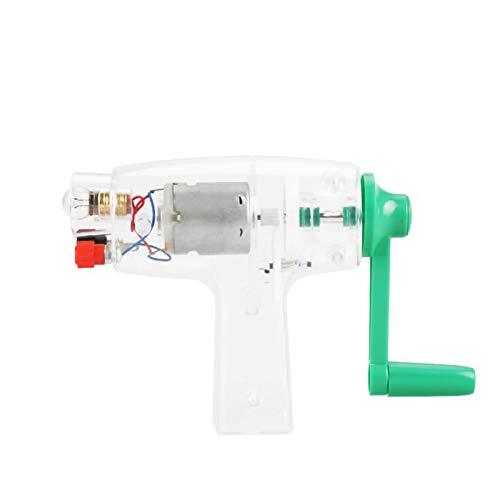 YRX Handkurbel angetrieben Elektrizität Generator Handbuch Notfall-Ladegerät Stromversorgung MF-Generator Teile Notfall-Ladegerät 6,3V 0,2A