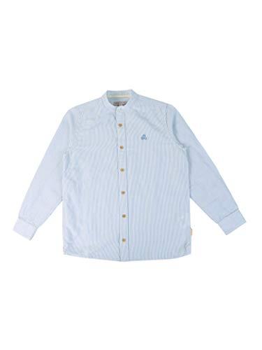 Scalpers Mao Kids Shirt - Camisa para niño, Talla 14, Color Rayas Azules