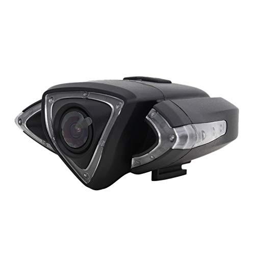 Heritan Motorrad Fahr Schreiber Fahrrad Vorderseite Kamera mit Blinker Warn Leuchte UnterstüTzung WiFi GPS Track Fahrrad ZubehhR