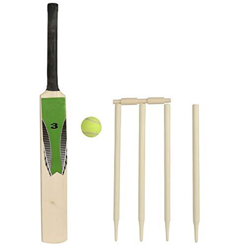 WOWOW Toys Junior Cricketschläger-Set aus Holz