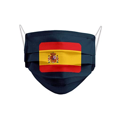 Mascarilla Bandera de España con Escudo