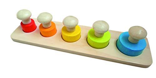 16702 Craft Trikes   Puzzle con pomos (30 x 9 x 4,5 cm)