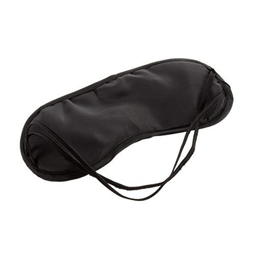WeiCYN 1pc Schwarz Schlafaugenmaske eyeshade Blindfold Relaxing Reise Schlafmittel-Abdeckung Lichtleiter Health Care