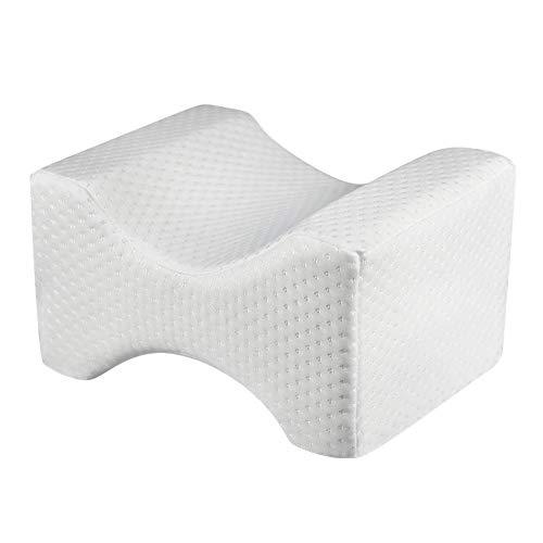 Biback Knee pillow Montante Positioner almohadas viscoelástica Memory Foam Pad con pata lavable lavable Forstner para la lactancia Shaping