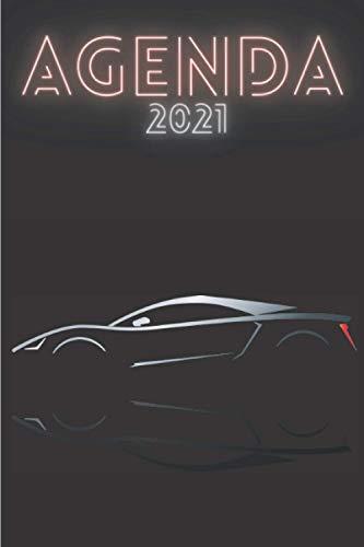 Agenda 2021 Coche deportivo: Agenda 2021 semana vista Coche...