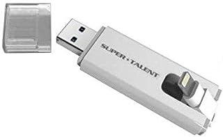 Super Talent STT128GBLT 128GB TwoDrive, Flash Drive for Apple iPhone & iPad, works with Lightning & USB 3.0