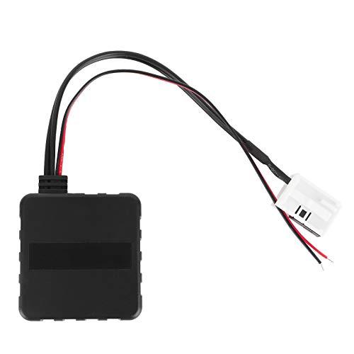 Adaptador de cable receptor de módulo Bluetooth, adaptador Bluetooth AUX-IN Amplificador Filtro de ruido apto para radio RCD 300310510 / RNS 300310510