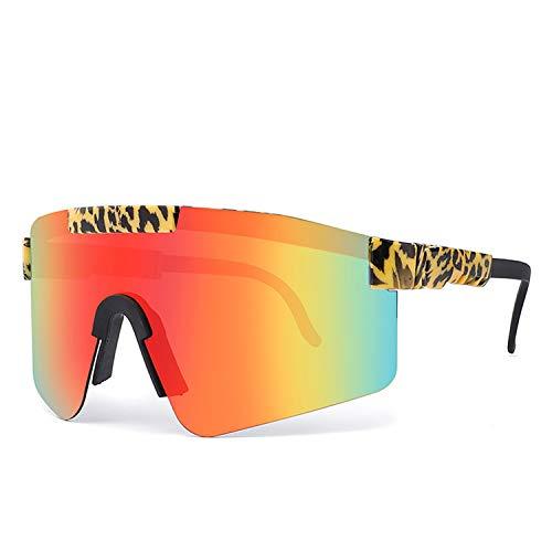 OFAD Gafas de sol polarizadas Pit Viper para hombres y mujeres al aire libre a prueba de viento gafas anti-UV Golf Pesca Ciclismo Gafas