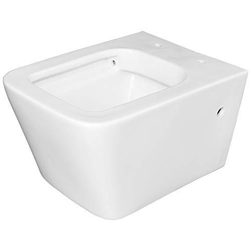 Sospesi Sanitari WC Filo Muro Bagno Senza Bordo Brida Sanlingo