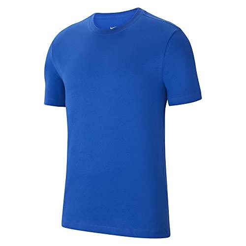NIKE, Park20, Camiseta De Manga Corta, Azul Real/Blanco, XL,...