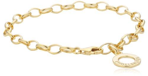Engelsrufer Armband für Damen vergoldetes 925er-Sterlingsilber Länge 19,5 cm