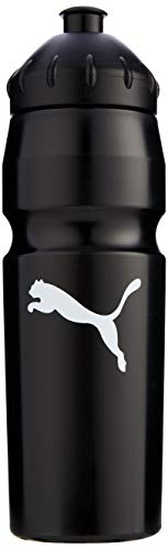 Puma 'New' Waterbottle Plastic 0,75 l Waterbottle, Unisex adulto, black-white, UA