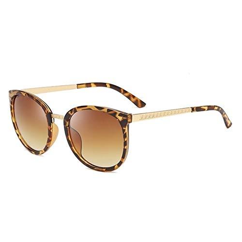 Occhiali Big Economici Shades donne di lusso tondo oversize occhiali da sole donne Occhiali Moda Occhiali da sole moda (Lenses Color : 02)