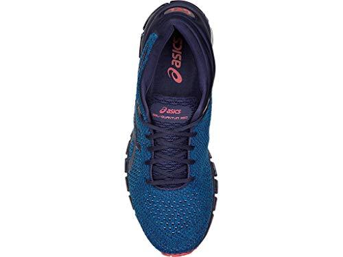 ASICS Men's Gel-Quantum 360 Knit Running Shoes, 9M, Race Blue/Peacoat 3