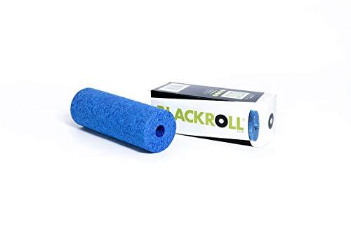 BLACKROLL® MINI Faszienrolle - das Original. Die kleine Selbstmassage-Rolle für die Faszien in azur
