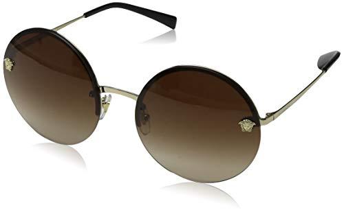 Versace Damen 0VE2176 125213 59 Sonnenbrille, Gold (Oro)