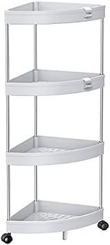 Solejazz 4-Tier Bathroom Cart Organizer