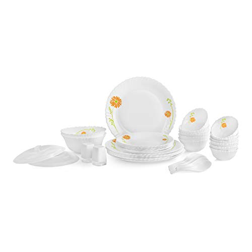 Cello Livid Lilac 37 Pcs Dinner Set