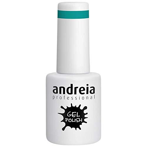 Andreia Vernis à Ongles Gel Semi-Permanent Couleur 203 Vert - Nuances de Bleu Néons - 10 ml