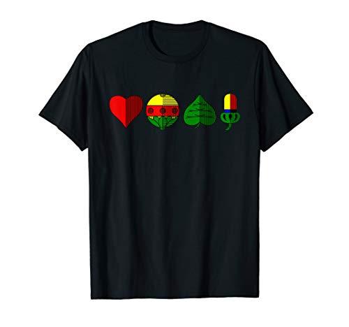 Schafkopf T-Shirt Deutsches Kartenspiel Shirt