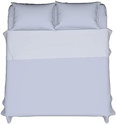 Homemania 14597 Fiche One-Single, Solid-Color-pour Le Lit-Vert en Coton, 150 X 290cm