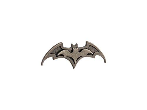 Knighthood Herren Reversnadel Batman-Logo Metalic Brosche Reversnadel/Lapel Pin/Anzug/Sakko