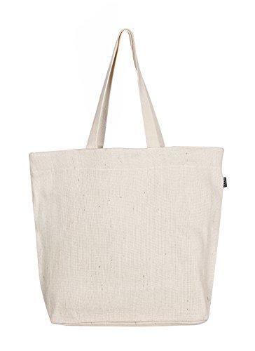 EONO Grande lona tote bag tela bolso compras