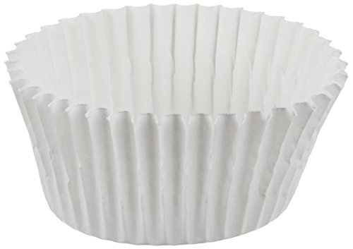 Cybrtrayd No.5 Paper Candy Cups, White, Box of 19000