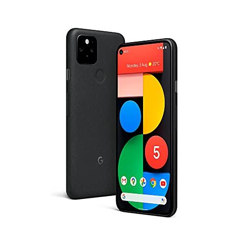 Google Pixel 5 5G (6,0″ OLED, Full HD+, OLED, 6GB, 128GB, Android 11, Schwarz)