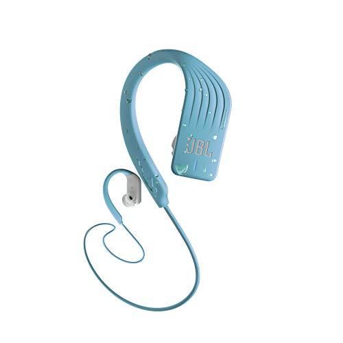 JBL Endurance Sprint Wireless Around-the-Ear Headphones- Aqua (JBLENDURSPRINTTEL)