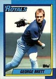George Brett 1990 Topps Baseball Card #60
