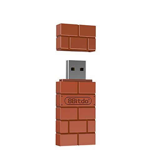 8Bitdo ワイヤレス BT アダプター NS Switch Windows Mac Raspberry Pi USBワイヤレス レシーバー 受信機用 NS スイッチ