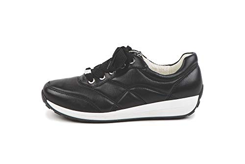 ARA Womens Sneaker, Black, 8