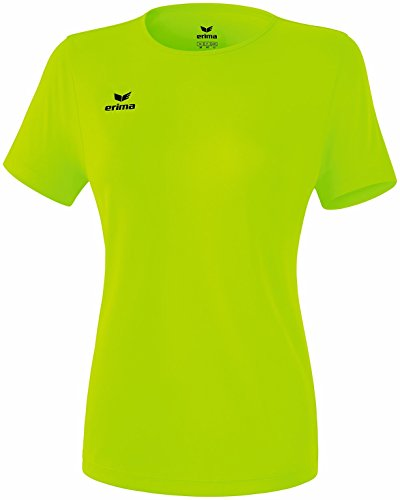 Erima Casual Basics T-Shirt Femme, Green Gecko, FR : S-M (Taille Fabricant : 40)