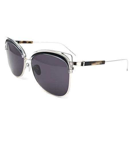 Calvin Klein CK19701S Acetate - Gafas de sol cristal/negro, unisex, para adulto, multicolor, estándar