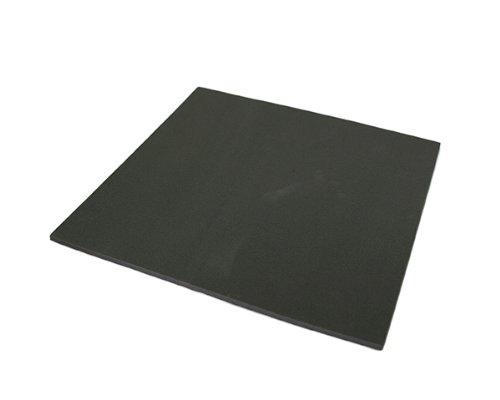 光 スポンジ(接着タイプ) 黒 5×300×300mm テープ付 00781457-1 SR5-31T