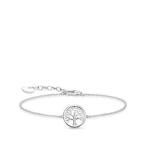 THOMAS SABO Damen Armband Glam & Soul Tree of Love 925 Sterling Silber A1828-051-14