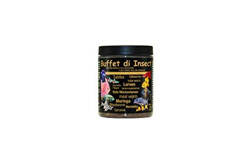 Discusfood Buffet di Insect Flachgranulat Komplettes, vollwertiges, extrudiertes Alleinfutter für alle Zierfischarten, die eine artgerechte Ernährung mit Insekten benötigen.