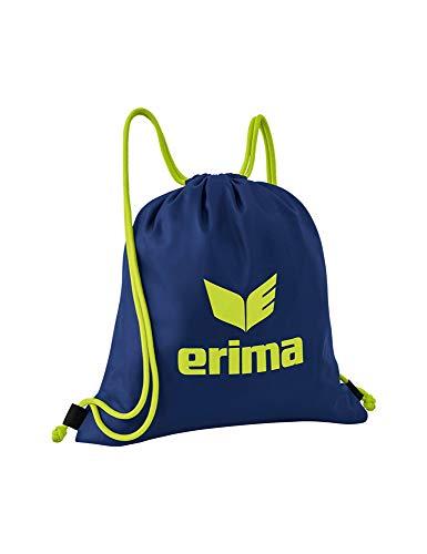 Erima Pro Turnbeutel, New Navy/Lime, Einheitsgröße