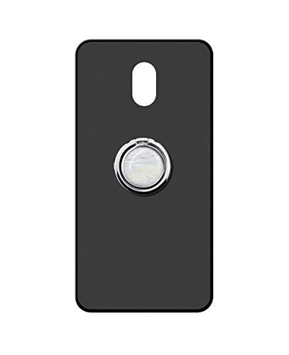 Sunrive Kompatibel mit Meizu M3 Max Hülle Silikon, 360°drehbarer Ständer Ring Fingerhalter Fingerhalterung Handyhülle matt Schutzhülle Etui Hülle (Weisser Marmor) MEHRWEG