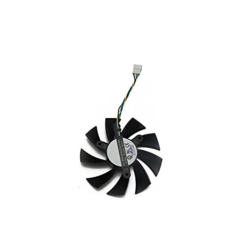Jinyouqin PLA09215B12H Devil RX VEGA56 VEGA64 per DATALAND PowerColor Radeon RX Vega 64 56 Fan di Raffreddamento refrigeratore Rosso (Blade Color : 1PCS)