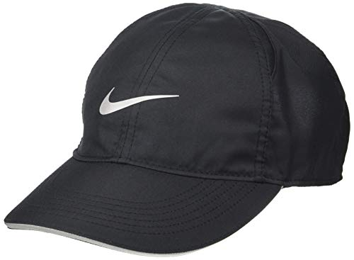 Nike Damen Featherlight Running Cap, Black, One Size