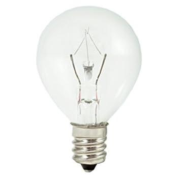 Bulbrite 25w 120v Globe G11 E12 Candelabra Xenon Halogen Light Bulb Amazon Com