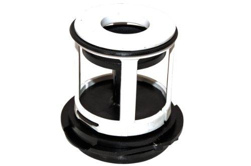 Bauknecht Waschmaschine Pumpe Filter mit Deckel. Original-Teilenummer 481948058106 C00314883