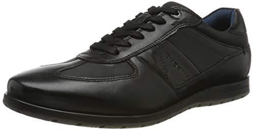 bugatti Herren 313140014069 Sneaker, Schwarz, 44 EU