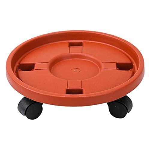 Base de bonsai Caddy de plantas de servicio pesado con ruedas Rolling Plant Stand Pot Pot Trolley Wheeled Planter Platillo Flor de Potted Mover Dolly con ruedas Soporte de exhibición de bonsai