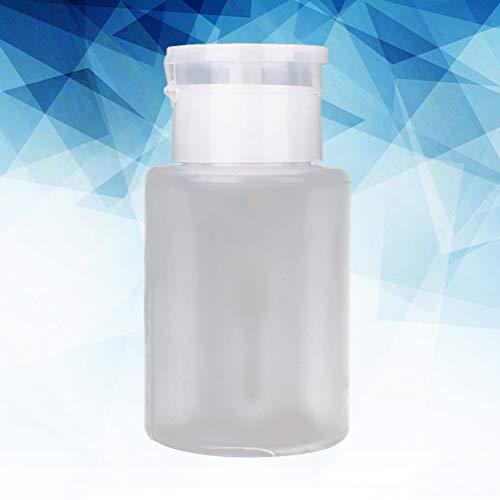 Lurrose Insecticide anti - fuites innovant de capacité 150 ml d 'huile d' ongle bouteille de pompage vide distributeur de bouteille de manucure pour usage personnel