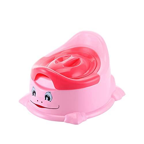 JSJJAYU 키즈 포티 제거 가능한 저장 뚜껑 이지 클린(색깔 : 핑크)으로 귀여운 아기 포티 화장실 훈련 의자 증가