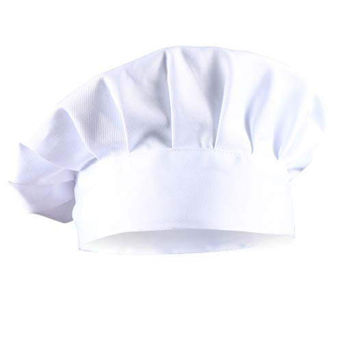 Dadoudou Chef Hats Tube Sharp with Adjustable Size for Adult/Kids
