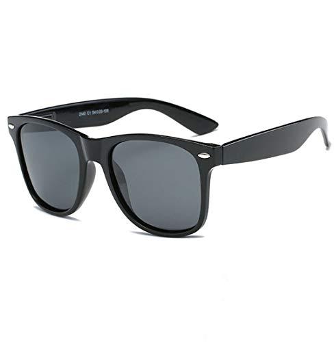 Funmo - Unisex Sonnenbrille,Kinder klassische Sonnenbrille, Kinder polarisierte Sonnenbrille Shades Brille für Kinder,Herren und Damen, schützen vor UVA400 UVB